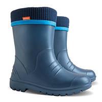 Резиновые сапоги DEMAR DINO d (синие) 30-31