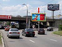 Ситилайты на ул. Саксаганского и др. улицах Киева