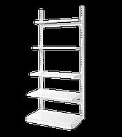 Стеллаж металлический прямой на стяжках, высота 2350 мм