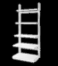 Стелаж металевий прямий на стяжках, висота 1900 мм