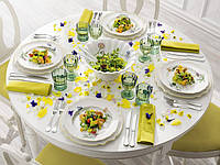 Сервировка стола для разных видов трапезы.