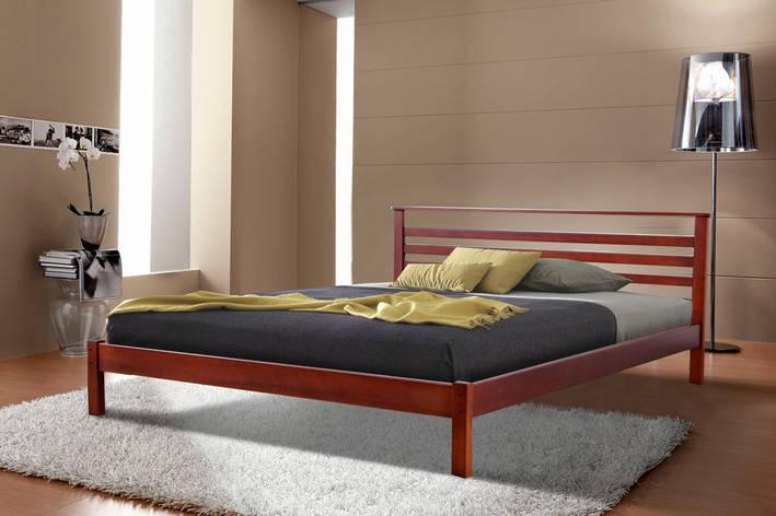Кровать Диана (1,6 м.) (ассортимент цветов) (Ольха), фото 2