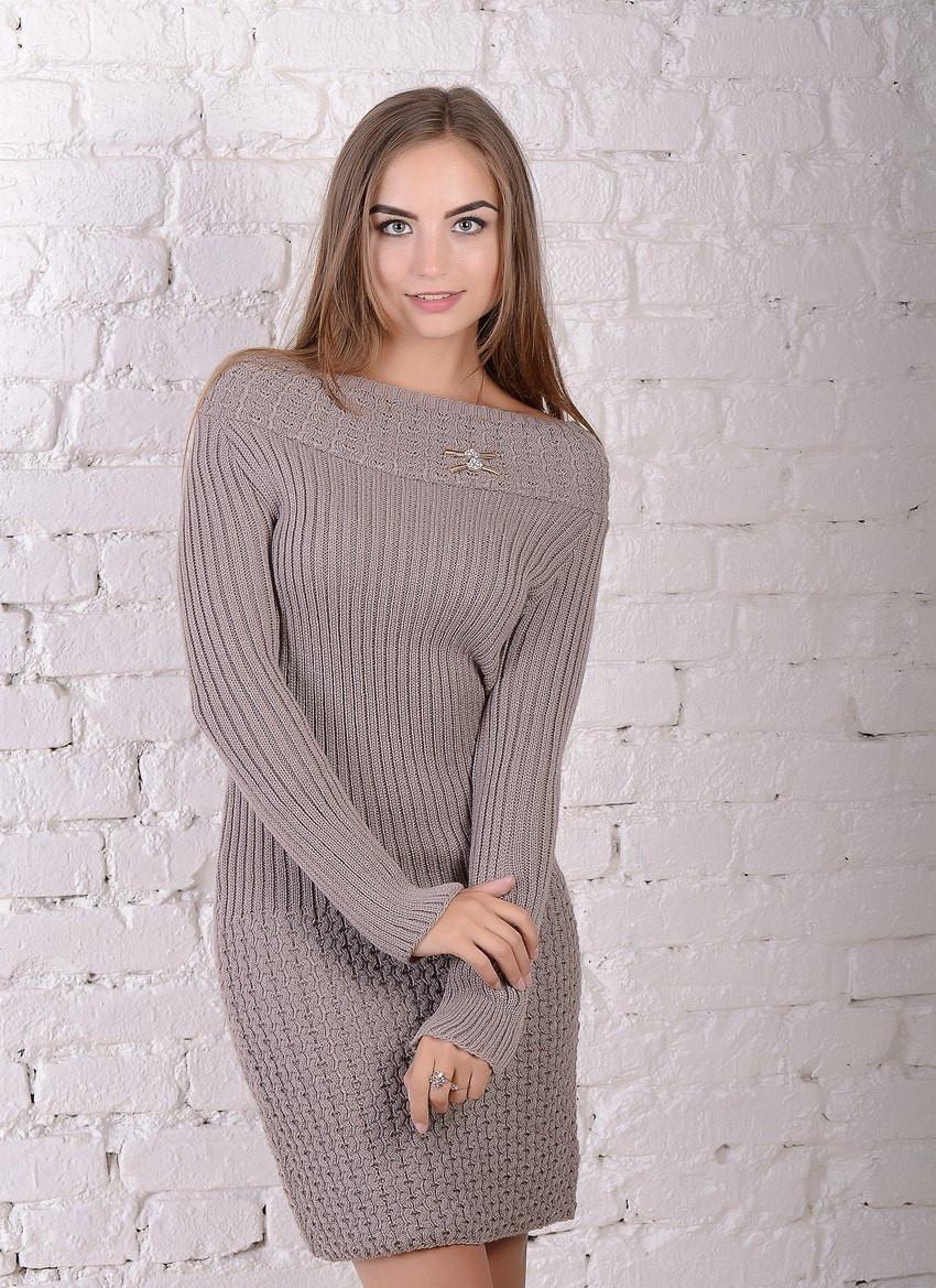 Вязаное платье Миранда р. 44,46,48,50