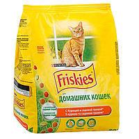 Friskies Indoor (Фрискис Индор) сухой корм для взрослых кошек, не выходящих на улицу 10 кг