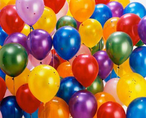 Воздушные мини надувные шары 500 штук