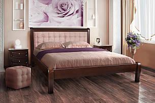 Кровать Соната (1,6 м.) (темный орех) (Клен), фото 2