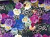 """Модное женское платье с цветочным принтом. """"модель Виола"""", фото 4"""