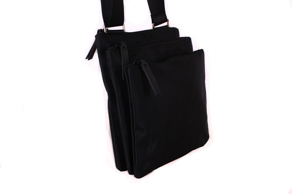 fed0f381da34 Мужская тканевая сумка через плечо черная, цена 425 грн., купить в ...