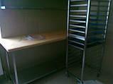 Мебель из нержавейки для кондитерских цехов, фото 3