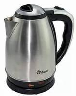 Чайник электрический Domotec DT-8001 из нержавеющей стали 1,8 л, электрочайник нержавейка