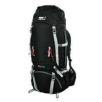 Рюкзак для путешествий High Peak Zenith 55+10 л (Black)