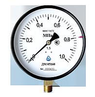 Манометр общего назначения 0-0,6MПA (100)КЛ 1,5 G1/2 (радиальный)