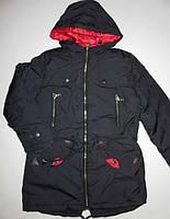 Куртка ПАРКА подростковая для девочки р-ры 134, 158, 164,  Венгрия. Grace G5981