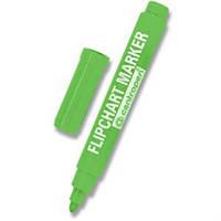 Маркер для флипчартов Centropen 8550 зеленый