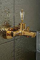 Смеситель для ванны Venezia Diamonod Gold 5010201