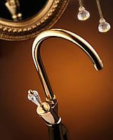 Смеситель кухонный Venezia Diamonod Gold 5010202
