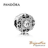 Pandora Шарм СКАЗАЧНОЕ ЦВЕТЕНИЕ #791961CZ серебро 925 Пандора оригинал