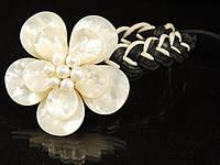 Браслет шамбала с цветком