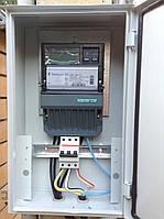 Установка ящика для счетчика электроэнергии