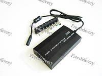 Унив. зарядное устройство ноутбука 2в1 сеть + авто, 8 насадок