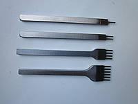 Пробойники шаговые (вилковые) для кожи шаг 4 мм