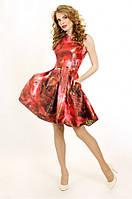 P 0650 Коктейльное платье из жаккарда, фото 1