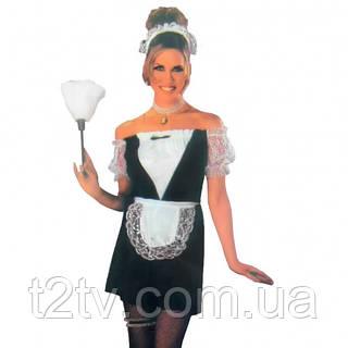 Взрослый карнавальный костюм Горничная