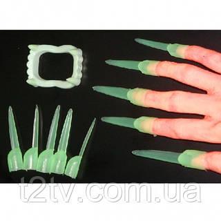 Зубы и когти светонакопительные