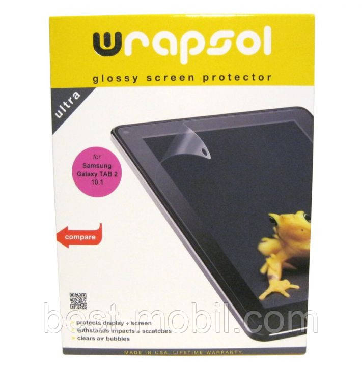Комплект защитных пленок Wrapsol Xtreme front + orginal back protection for iPad Mini (XHMPAP013)