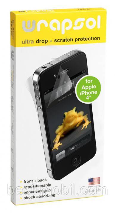 Комплект защитных пленок Wrapsol Ultra for HTC One V (UPHHT051)