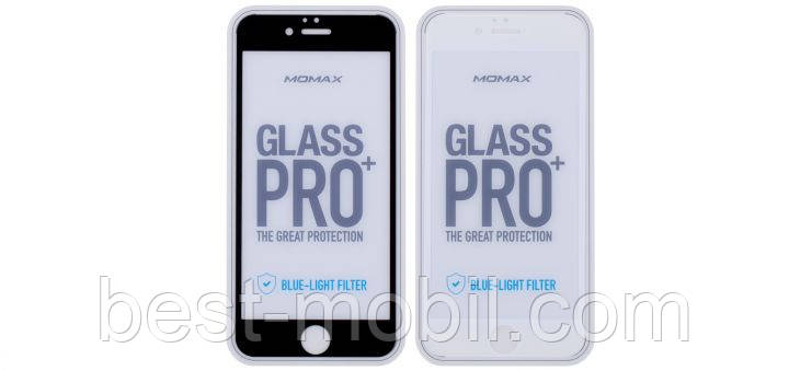 Glass PRO+ Blue-ray Screen for iPhone 6,black (PZAPIP6FFSARBD) Momax