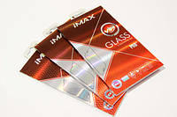 IMax IPhone 6 plus (5.5) Silicone full cover tempered glass white