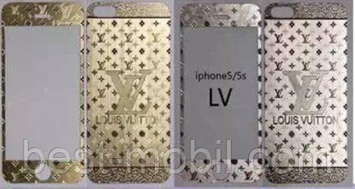 Защитное стекло с рисунком LV iPhone 6 plus/6s plus