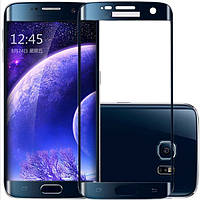 S7 Edge blue Samsung Tempered glass Veron (2.5D) with rounded edges