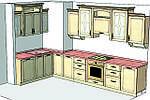 Из чего делают корпусную мебель под заказ? Как добавить яркости и красок