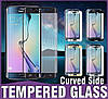 S6 EDGE white Samsung Tempered glass Veron Curved