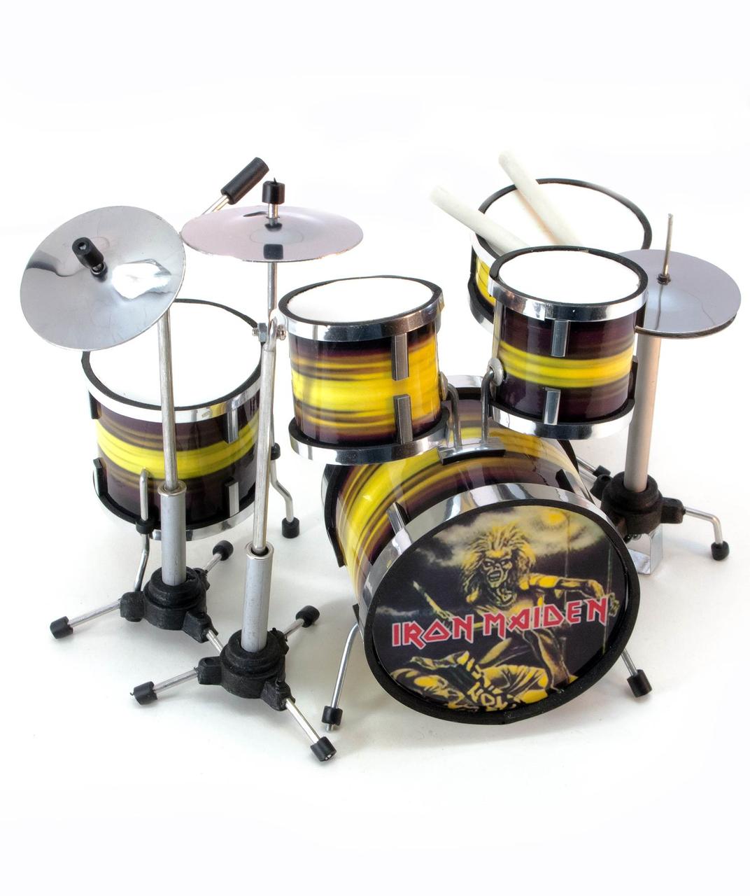 Барабанная установка Iron Maiden - Остров Сокровищ магазин подарков, сувениров и украшений в Киеве