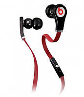 HF Beats by Dr. Dre (Tour) with control talk without volume button, red