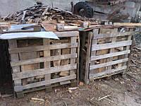 Дрова сосновые в обрезках в таре по 1 кубу