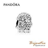 Pandora Шарм ОЧАРОВАТЕЛЬНЫЕ СОВЫ #791966 серебро 925 Пандора оригинал
