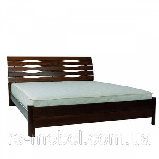 """Кровать двухспальная """"Марита S"""", дерево (ТМ Олимп)"""