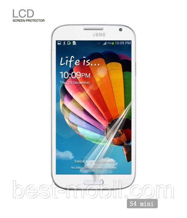 Yoobao screen protector for Samsung i9190 Galaxy S4 Mini (matte) (SPSAMi9190-MATTE)