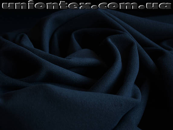 Кашемир (580 GSM Quality +) темно- синий, фото 2