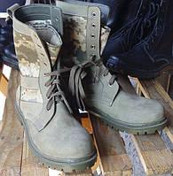 """Демисезонні армійські  берци """" Патріот """" (нубук), фото 1"""