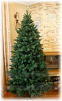 Супер реалистичная зеленая ель 1,8 м (литая, производство: Украина)  SHZ /0-36