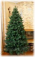 Супер реалистичная искусственная зеленая ель 2,1 м (литая, производство: Украина)  SHZ /0-201