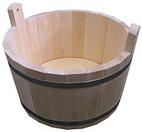Шайка для бани 7л (Липа)