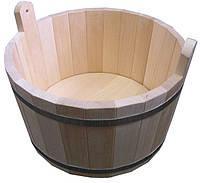Шайка для бани 15л (Липа)