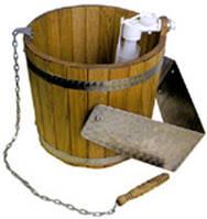 Ведро-водопад для бани (Дуб)