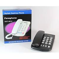 Телефон стационарный Panaphone KX 3014, проводной кнопочный телефон